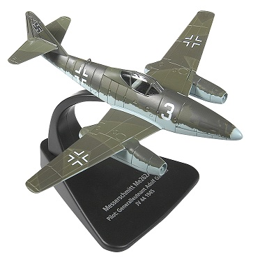 Me 262 1/72 Die Cast Model (Galland) (AC007)